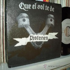 Discos de vinilo: PISTONES 45 QUE EL SOL TE DÉ POP ROCK ENERGÉTICO SPAIN. Lote 31206980