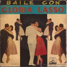 Discos de vinilo: EP-GLORIA LASSO-BAILE CON...VSA 13514-LA CALLE DONDE VIVES-VOL.1 . Lote 31213282