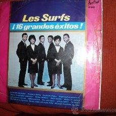 Discos de vinilo: LES SURF LP 16 GRANDES EXITOS 1965 HISPAVOX SPA . Lote 31220070