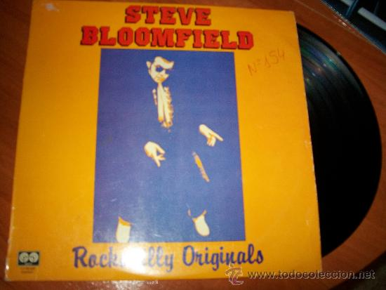 STEVE BLOOMFIELD -- ROCKABILLY ORIGINAL ... LP 1981 -- EXCLUSIVO (Música - Discos - LP Vinilo - Rock & Roll)