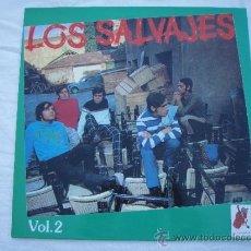 Discos de vinilo: SALVAJES - VOL.2 - LP - RARO. Lote 31279217