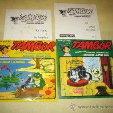 Discos de vinilo: LOTE DE DOS CUENTOS TAMBOR - VERGARA. Lote 31229528