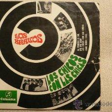 Discos de vinilo: LOS BRAVOS EP LOS CHICOS CON LAS CHICAS 1967. Lote 31232020