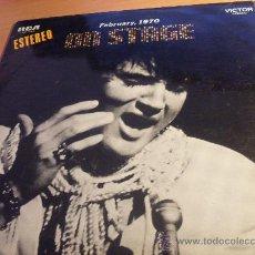 Discos de vinilo: ELVIS PRESLEY ( ON STAGE ) LP ESPAÑA 1970 ( EX / VG++ ) (FE2). Lote 31232256