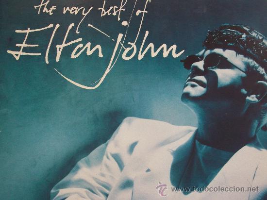 ELTON JOHN,THE VERY BEST EDICION ESPAÑOLA DEL 90 2 LP (Música - Discos - LP Vinilo - Pop - Rock Internacional de los 90 a la actualidad)