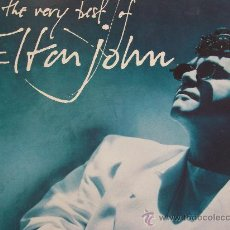Discos de vinilo: ELTON JOHN,THE VERY BEST EDICION ESPAÑOLA DEL 90 2 LP. Lote 261248690