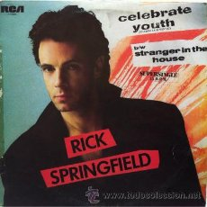 Discos de vinilo: RICK STRINGFIELD - CELEBRATE YOUTH . MAXI SINGLE . 1986 RCA RECORDS. Lote 31236976