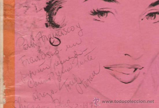 Discos de vinilo: LP LOLA FLORES : LA FAVORITA DE ESPAÑA - EDITADO EN ESTADOS UNIDOS - Foto 2 - 31236999