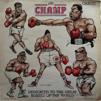 CARGO - THE CHAMP . MAXI SINGLE . 1988 CARGO MUSIC UK (Música - Discos de Vinilo - Maxi Singles - Funk, Soul y Black Music)