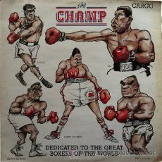 Discos de vinilo: CARGO - THE CHAMP . MAXI SINGLE . 1988 CARGO MUSIC UK. Lote 31237893