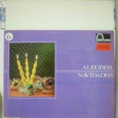 Discos de vinilo: ALEGRES NAVIDADES (VILLANCICOS). Lote 31239948