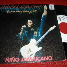 "Discos de vinilo: EDDY GRANT JAMAICAN CHILD/ COCKNEY BLACK 7"" SINGLE 1982 ICE ED ESPAÑOLA. Lote 31249247"