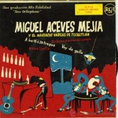 Discos de vinilo: MIGUEL ACEVES MEJÍA Y EL MARIACHI VARGAS DETECATITLÁN RCA3-22055. Lote 31249321