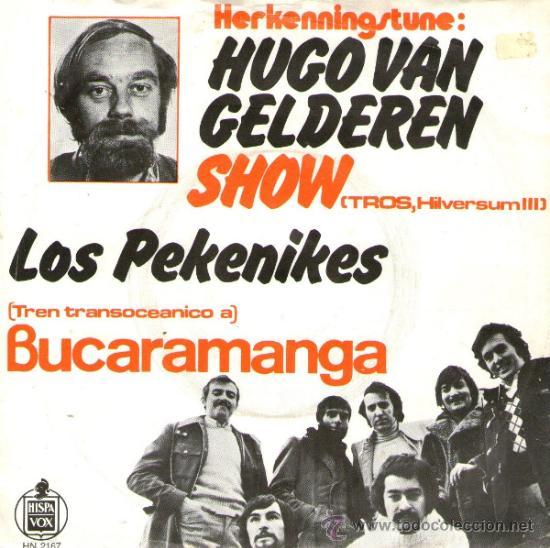 "LOS PEKENIKES - RARO SINGLE VINILO 7"" - EDITADO EN HOLANDA - CUCHIPE + BUCAMARANGA - AÑO 1971 (Música - Discos - Singles Vinilo - Grupos Españoles de los 70 y 80)"