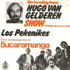 """Discos de vinilo: LOS PEKENIKES - RARO SINGLE VINILO 7"""" - EDITADO EN HOLANDA - CUCHIPE + BUCAMARANGA - AÑO 1971. Lote 31250427"""