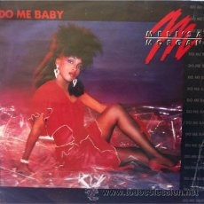 Discos de vinilo: MELI'SA MORGAN - DO ME BABY . MAXI SINGLE . 1985 CAPITOL USA. Lote 31252555