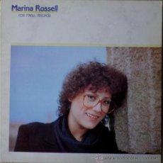 Discos de vinilo: MARINA ROSSELL - COS MEU, RECORDA (LP) 1982 - CANÇÓ CATALANA. Lote 31253882