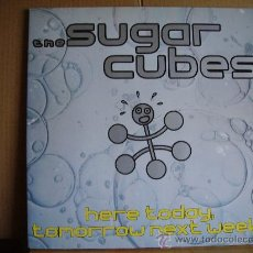 Discos de vinilo: THE SUGARCUBES --- HERE TODAY ,TOMORROW NEXT WEEK. Lote 31255803