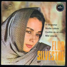 Discos de vinilo: DISCO 0165 FLOR SILVESTRE DISCO PROMOCIONAL EL DESPERTAR NOCHE CALLADA CACHITO .. ZAFIRO. Lote 31259963