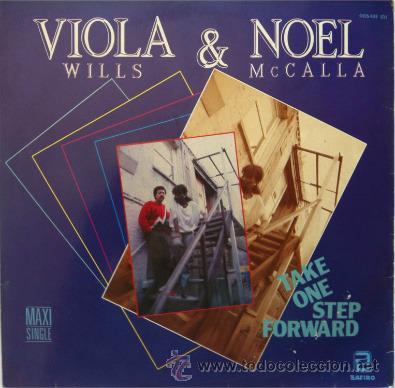 VIOLA WILLS & NOEL MCCALLA - TAKE ONE STEP FORWARD - MAXI SINGLE . 1986 ZAFIRO (Música - Discos de Vinilo - Maxi Singles - Funk, Soul y Black Music)