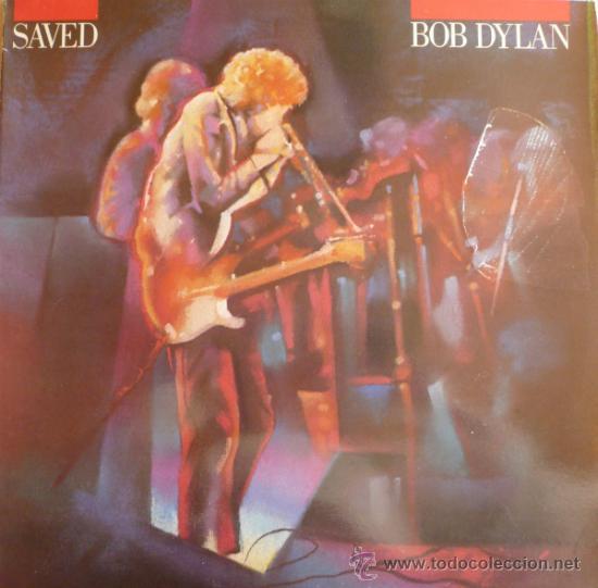 BOB DYLAN / SAVED (LP) (LA PORTADA RECTIFICADA) (Música - Discos - LP Vinilo - Cantautores Extranjeros)