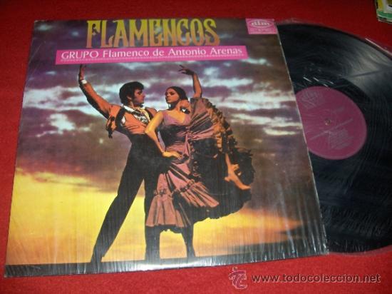 CAMARON DE LA ISLA ANTONIO ARENAS Y SU GRUPO FLAMENCO LP 1968 ¡¡PRIMERA GRABACIÓN!! RARO!! EXCELENTE (Música - Discos - LP Vinilo - Flamenco, Canción española y Cuplé)