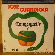 Discos de vinilo: JOSE GUARDIOLA - EMMANUELLE / EVA - OLYMPO S-40 - 1975. Lote 31260471