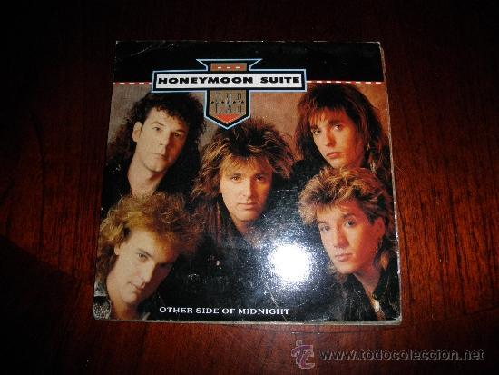 HONEYMOON SUITE. OTHER SIDE OF MIDNIGHT / FAST COMPANY. EDICION INGLESA 1988. IMPECABLE (Música - Discos - Singles Vinilo - Heavy - Metal)