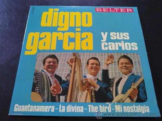 DIGNO GARCÍA Y SUS CARIOS - GUANTANAMERA (Música - Discos de Vinilo - EPs - Grupos y Solistas de latinoamérica)