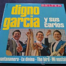 Discos de vinilo: DIGNO GARCÍA Y SUS CARIOS - GUANTANAMERA. Lote 31269510