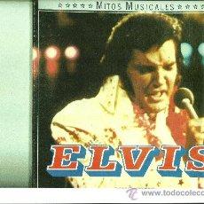 Discos de vinilo: ELVIS PRESLEY. MITOS MUSICALES DEL CIRCULO DE LECTORES (CAJA CON 2 LPS ). Lote 31271301