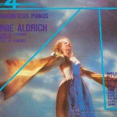 Discos de vinilo: RONNIE ALDRICH,LOS MAGNIFICOS PIANOS DEL 74. Lote 31275219