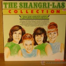 Discos de vinilo: THE SHANGRI-LAS - COLLECTION 20 GREATEST HITS - MASTERS MA-21285 - 1993 - EDICION HOLANDESA. Lote 31287969