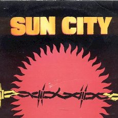 Discos de vinilo: LP 33 RPM / SUN CITY ( RINGO STARR-BEATLES ) // EDITADO POR MANHATTAN -SPANISH. Lote 31292915
