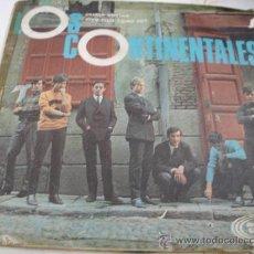 Discos de vinilo: LOS COTINENTALES. Lote 31296198