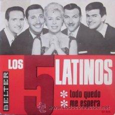 Discos de vinilo: LOS 5 LATINOS - 1966. Lote 31296718