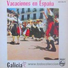 Discos de vinilo: GALICIA - CORAL FOLLAS NOVAS, CORAL EL ECO, CORO CANTIGAS DA TERRA - 1961 - (COMO NUEVO). Lote 31297188