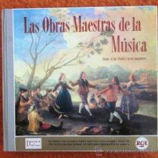 Discos de vinilo: LAS OBRAS MAESTRAS DE LA MÚSICA - 12 LPS - 1959 (EXCELENTE ESTADO). Lote 31297494