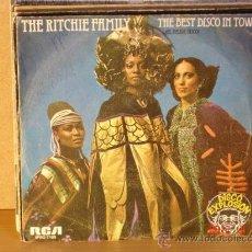 Discos de vinilo: THE RITCHIE FAMILY - THE BEST DISCO IN TOWN (PARTE 1 Y PARTE 2) - RCA-VICTOR SPBO-7105 - 1976. Lote 31302214