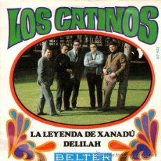 """Discos de vinilo: LOS CATINOS - SINGLE VINILO 7"""" - EDITADO EN ESPAÑA - LA LEYENDA DE XANADÚ + 1 - BELTER 1968. Lote 31310466"""