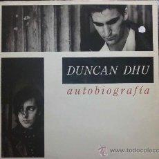 Discos de vinilo: DUNCAN DHU - AUTOBIOGRAFÍA - DOBLE LP. Lote 31311070