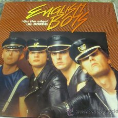 Discos de vinilo: ENGLISH BOYS - ON THE EDGE - MAXISINGLE 1982 - GAY POWER. Lote 31318012