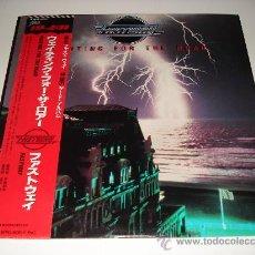 Discos de vinilo: FASTWAY / WAITING FOR THE ROAR - LP AUDIÓFILOS JAPÓN CON OBI Y LIBRETO CON LETRAS!!! PERFECTO!!!!. Lote 31325021