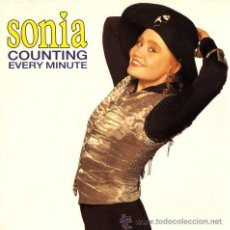 Discos de vinilo: SONIA ··· COUNTING EVERY MINUTE / COUNTING EVERY MINUTE (INSTRUMENTAL) (SINGLE 45 RPM) ··· NUEVO. Lote 31325323