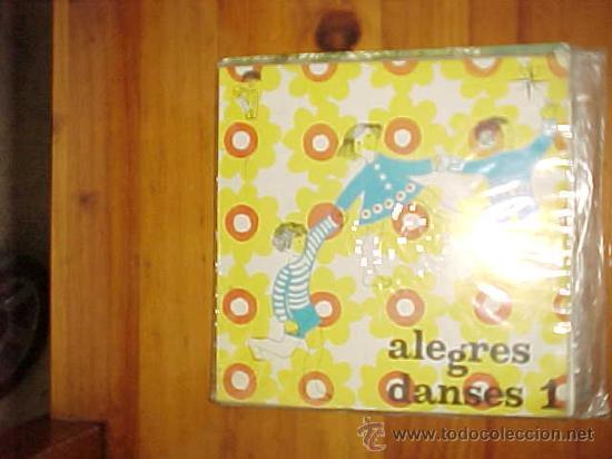 ALEGRES DANSES 1. ORQUESTA HENRY VEYSSEYRE. EDICION CATALANA 1969.GRAFICOS DE LOS BAILES (Música - Discos de Vinilo - EPs - Música Infantil)