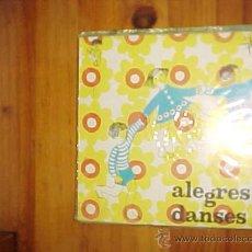 Discos de vinilo: ALEGRES DANSES 1. ORQUESTA HENRY VEYSSEYRE. EDICION CATALANA 1969.GRAFICOS DE LOS BAILES. Lote 31330239