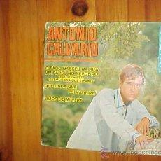 Discos de vinilo: ANTONIO CALVARIO. O FADO NASCEU NA RUA. EP. BELTER 1966. IMPECABLE. Lote 31330308