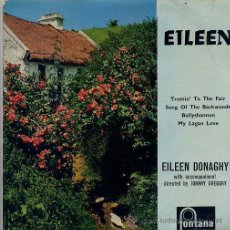 Discos de vinilo: EILEEN DONAGHY / TROTTIN' TO THE FAIR / MY LAGAN LOVE + 2 (EP 1959 INGLES). Lote 31331964