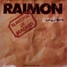 Discos de vinilo: RAIMON - EL RECITAL DE MADRID (2 LP) 1976 - CANÇÓ CATALANA. Lote 31335701