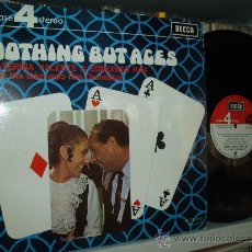 Discos de vinilo: CATERINA VALENTE & EDMUNDO ROS LP NOTHING BUT ACES IN SPANISH SPAIN. Lote 31345924